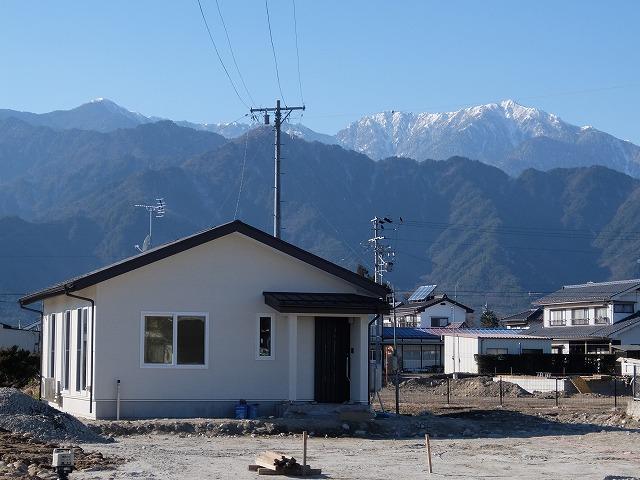 松川村 高齢者対応平屋住宅
