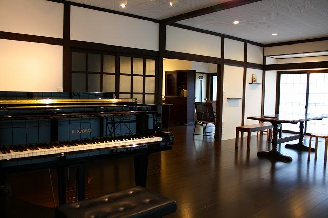 住宅をピアノ教室&コミュニティスペースにリフォーム